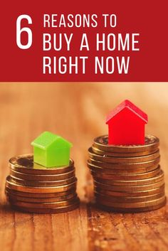 Here are some financial reasons why it makes sense to buy a home right now.