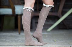 Lace Boot Socks $12 at Groopdealz