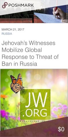 OUR STRENGTH IS IN NUMBERS I know how powerful this platform can be... Tag any sisters (or brothers) you know to help spread this along! It's GO time! https://www.jw.org/en/news/releases/by-region/russia/jw-mobilize-global-response-to-threat-of-ban/ Other
