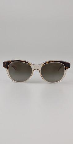 Stella McCartney Rounded Sunglasses @shopbop