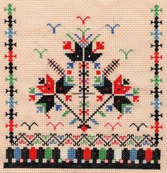 Kapantsi embroidery