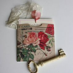 'Vintage Roses' Wedding Invitation