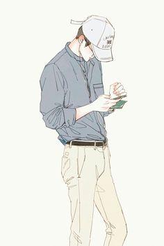 Sehun, Kpop Exo, Manga Top, Character Art, Character Design, Character Concept, Drawing Sketches, Art Drawings, Drawing Ideas