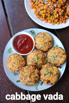 cabbage vada recipe, cabbage vadai, cabbage dal vada with step by step photo/video. easy & simple savoury snack recipe with grated cabbage shreds & mixed lentils. Pakora Recipes, Cutlets Recipes, Chaat Recipe, Veg Recipes, Spicy Recipes, Cooking Recipes, Cooking Tips, Vegetarian Snacks, Savory Snacks