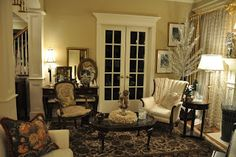 """Serendipity Refined: """"Behind The Scenes"""" info on the Living Room Makeover"""