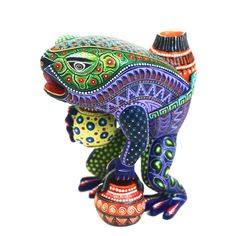 Manuel Cruz: Small Frog with Pots