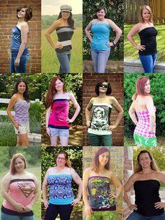 Free Pattern! Gigi's Tube Top for Women