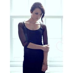 An interview with Kathryn Prescott ❤ liked on Polyvore