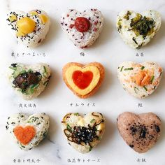 Pin by 目 メダカ on おにぎり in 2020 Bento Recipes, Cooking Recipes, Dessert Recipes, Yummy Drinks, Yummy Food, Japanese Food Sushi, Food Porn, Brunch, Rice Balls