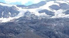 Lodowiec w Alpach