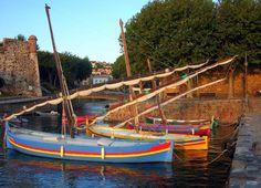 Barques catalanes de Collioure