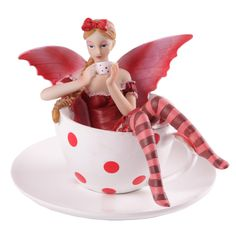 Enchanted Fairies Figurine - Tea Cup If you like fantasy gifts and collectables then check out our fairy and unicorn range With the designs taking