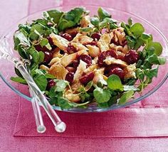 This quick and simple salad is pepped up with the flavour of watercress