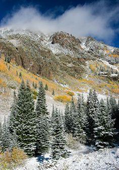 Gore Range, Vail, Colorado; photo by Adam Pender