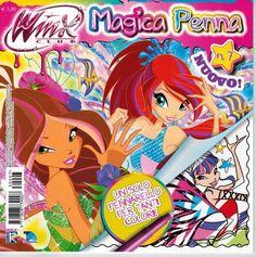 Nuevo libro Winx Club Magica Penna nº7 a la venta en Italia