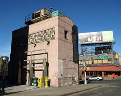 Mott Avenue Control House, 149th Street / Grand Concourse IRT Subway Station, Bronx NYC. National Register of Historic Places, added 1980.