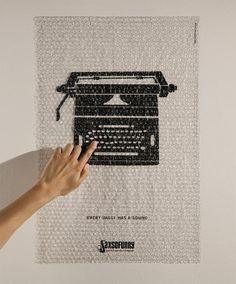 Audible Posters: OBlog: Design Observer