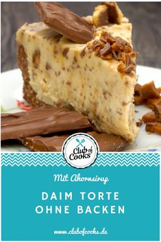 Are you also a big Daim fan like us? Then this daim cake is just right for you! It only takes 3 hours in the fridge after it is done and ready to serve! Are you also a big Daim fan like us? Then this daim cake is just right for … Hot Cross Bun, Daim Cake, Cake Recipes, Dessert Recipes, Easter Recipes, Quick Cake, New Fruit, Cupcakes, Pastel