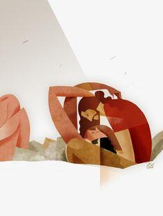 SLEEPYDAYS: Riccardo Guasco, o cuando el arte se vuelve ilustración