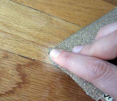 fixing dents in wood