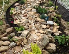 Ditch the Ordinary Ditch: Create a Realistic Dry Creek Bed