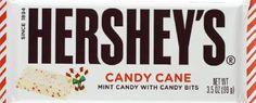 Hershey's Candy Cane Chocolate Bar.