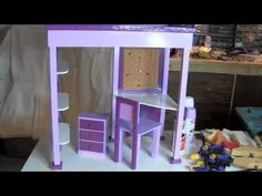 How To Make McKenna's Loft Bed