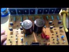 Amplificador 400w rms ÷ 2 canais - YouTube
