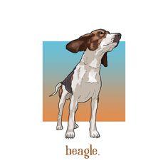 beagle design. Beagle, Moose Art, Graphic Design, Drawings, Artwork, Painting, Animals, Sketches, Animais