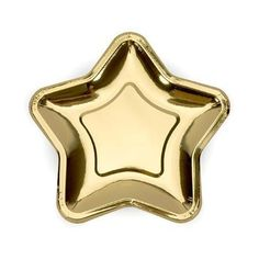 Gold Star Shaped Paper Plates, Gold Star Paper Party Plates, Christmas Plates, Baby Shower Plates, W Star Wars Party, Star Party, Baby Shower Floral, Baby Shower Plates, Christmas Plates, Christmas Star, Christmas Decorations, Party Plates, Party Tableware