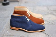 These Shoes: The Next Big Trend: Colored Chukka Boots