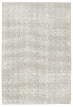 Stupa Silver by Suzanne Sharp | Silk Contemporary hand-knotted designer rugs