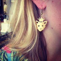 Cat Earrings Cat Ears Headband, Boutique Shop, Kitty, Drop Earrings, Inspiration, Accessories, Beautiful, Shopping, Color