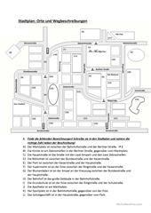 wegbeschreibung schule allgemein wegbeschreibung deutsch lernen und deutsch. Black Bedroom Furniture Sets. Home Design Ideas