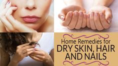 5 Home Remedies for Healthier Skin and Hair : All around the world people spend hundreds and thousands of dollars to attain beautiful skin and healthier hairs. They buy a lot of makeup to look pret… Dry Skin Remedies, Hair Remedies, Healthy Hair Growth, Healthy Skin, Hair Treatment At Home, Hair Detox, Skin Spots, Home Remedies For Hair, Diy Beauty