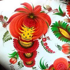 by oleksandr opariy  .  .  .  .  #petrykivka #art #heritage #unesco #folk #folkart #decorative #handmade #design  #floralart #ukraine #paint #kyiv #петриківка #петриковка