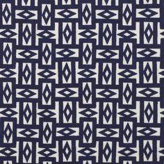 ¤ Rectangles linen textile design by Josef Hoffmann, 1909. Wiener Werkstatte. Original design courtesy Backhausen Archive, Vienna.