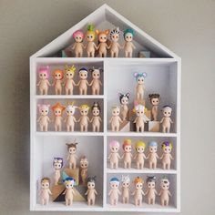Finding Myself Young: KMART HACK - How to transform shadow boxes into Sonny Angel houses