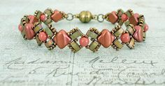 Linda's Crafty Inspirations: Free Beading Pattern: Lucy Bracelet