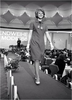 DDR fashion on the catwalk 1966
