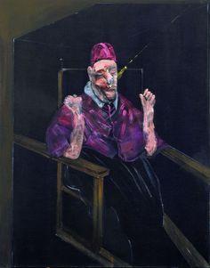 Francis Bacon (1909-1992) Estudio para un retrato (Papa), 1957.
