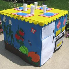 Garden to Table Card Table Playhouse