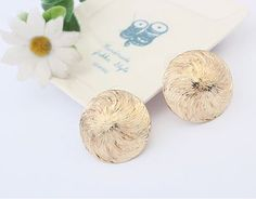 Van Gogh Sunflower Impression Earrings | LilyFair Jewelry, $10.99!