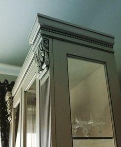 Classic furniture. Nomidis Luxury Furniture. #classicstyle#classic#classicfurniture#luxuryfurniture#kitchen#glass#classickitchen#classicdoor