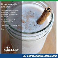 Amazing protein shake recipes by Isagenix. Learn how the amazing Isalean Shake c. Amazing protein shake recipes by Isagenix. Learn how the amazing Isalean Shake can fuel you with 24 grams of indentured protein as well as needed vita. Vanilla Shake Recipes, Vanilla Protein Shakes, Protein Shake Recipes, Smoothie Recipes, Whey Recipes, Ninja Recipes, Milkshake Recipes, Vitamix Recipes, Healthy Recipes