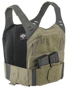 STEALTH Low Vis Plate Carrier - Banshee Series Plate Carrier Setup, Battle Belt, Tac Gear, Chest Rig, Tactical Vest, Body Armor, Navy Seals, Look Cool, Airsoft