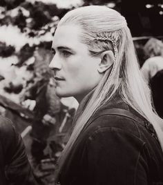 Legolas He was in the new hobbit and it IS Orlando Bloom!!!! AMAZING! Such a majestic warrior - prim proper and perfect beings... Strong and beautiful! I would love to be an Elven Princess and gawd dang it - I'll take Legolas as my man PLEASE!!!!!