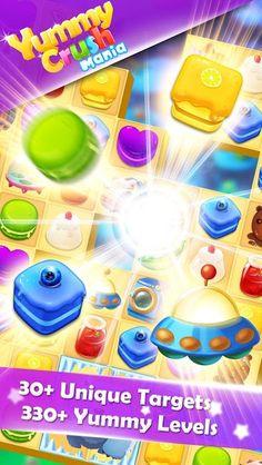 Yummy Crush Candy - Match 3 with Gummy Candies v1.3.0 [Mod] Apk Mod  Data http://www.faridgames.tk/2017/07/yummy-crush-candy-match-3-with-gummy.html