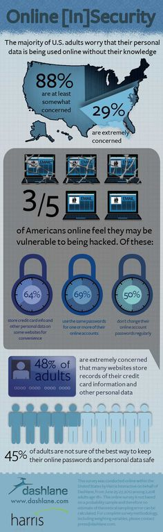 INFOGRAPHIC: Online [In]Security: 88% of Americans Worry Personal Data Used Without Their Knowledge