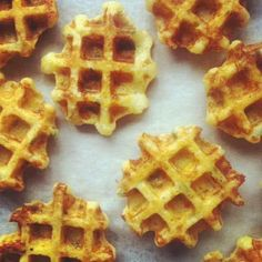 Polenta And Gruyere Waffles